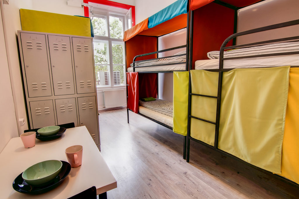 Dorm room with shared bathroom at Pal's Mini Hostel