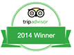 Tripadvisor Certificate of Excellence 2014 for Pal's Hostel