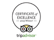 Tripadvisor Certificate of Excellence 2015 for Pal's Hostel