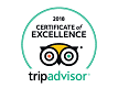 Tripadvisor Certificate of Excellence 2018 for Pal's Hostel